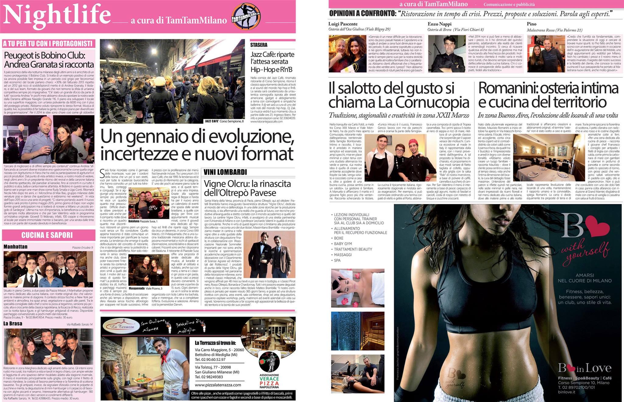 Corriere della Sera 30 Gennaio 2014