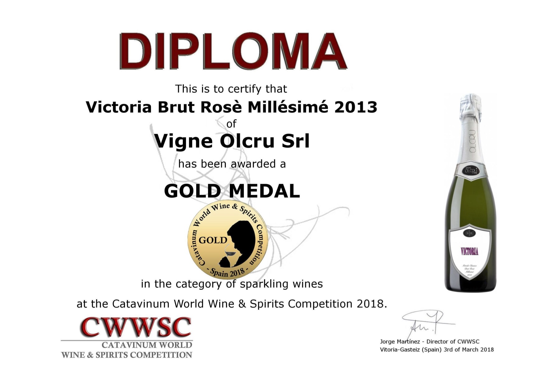 CWWSC 2018 Spagna – Victoria 2013