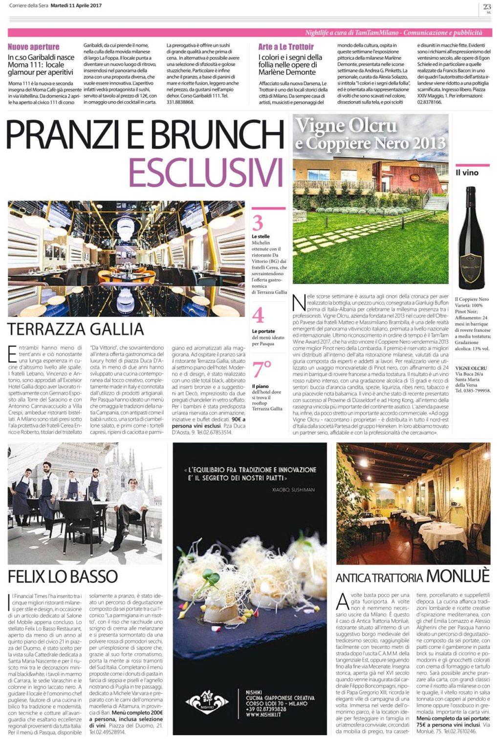 Corriere 11 aprile 2017