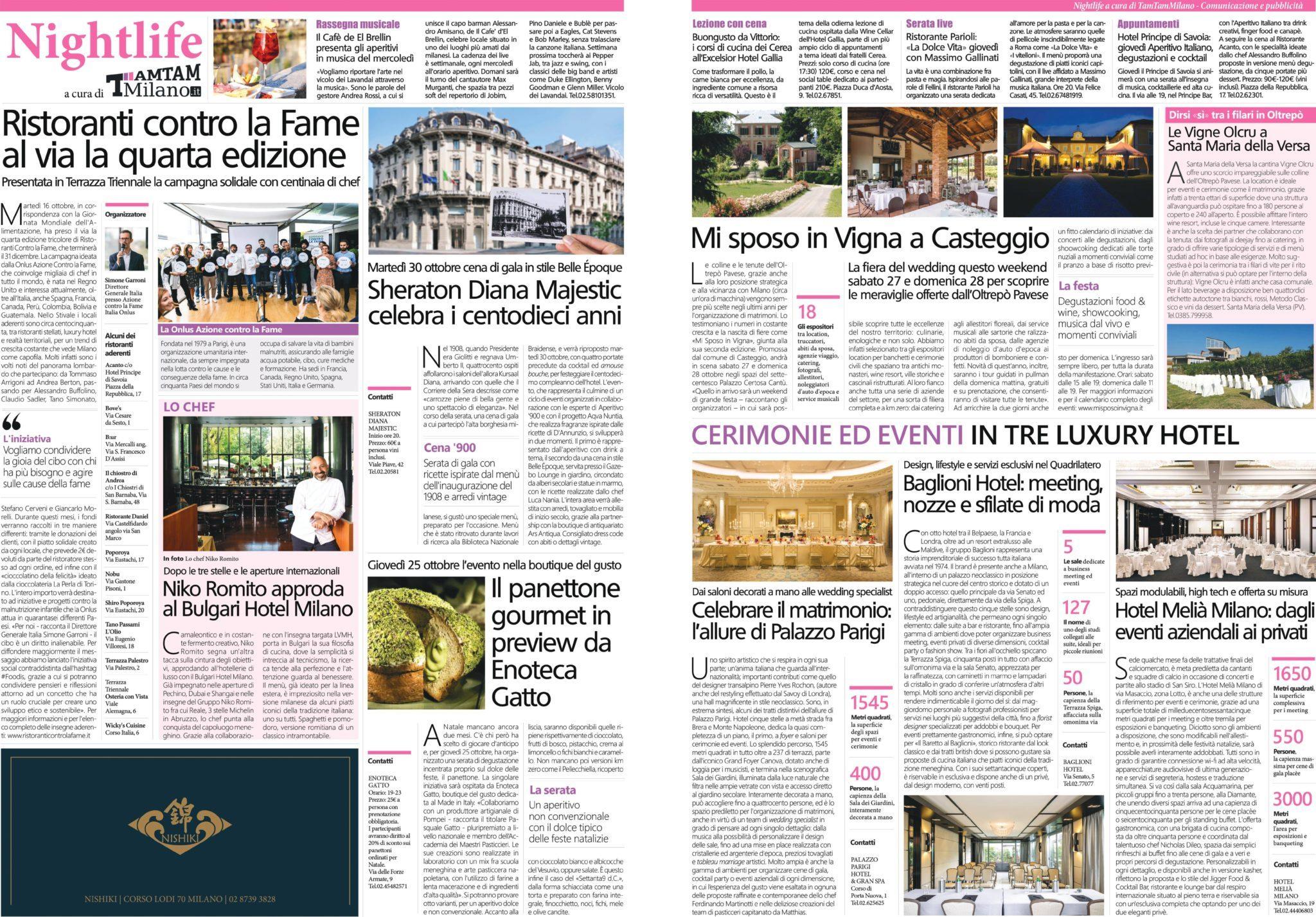 Corriere della Sera 25 Ottobre 2018