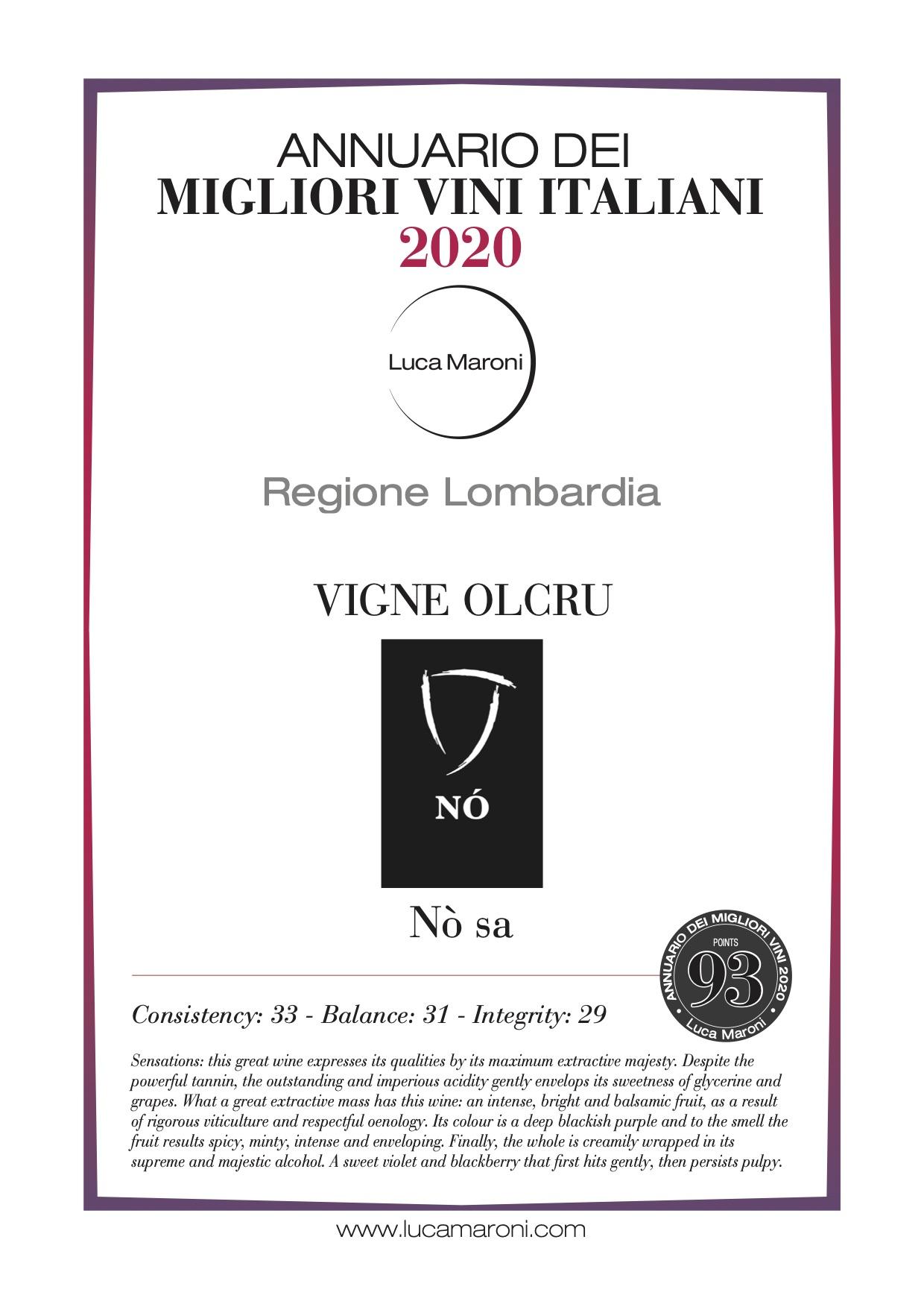 Luca Maroni 2020 – Nò L.NO18